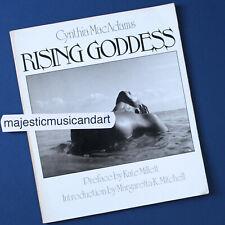 PHOTOGRAPHER CYNTHIA MacADAMS RISING GODDESS PHOTO BOOK 1ST ED 1ST PRINTING 1983