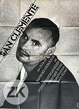 SAN CLEMENTE Asile PSYCHIATRIQUE Raymond DEPARDON Photographe CIESLEWICZ 1980/82