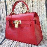 100% Genuine Cowhide Leather Kelly 22 Ladies Woman Bag Handbag