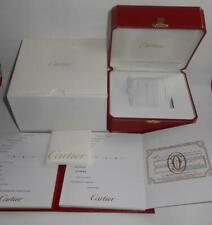 Original Cartier Empty Watch Box & Document In Blank