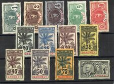 Dahomey: Serie Of 13 Stamps New N°18/30 Value