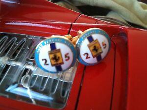 Ferrari cufflinks Ferrari 412P NART Le Mans