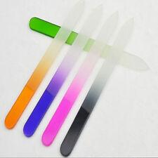 Beauty New Pro Tool Nail Art Files Crystal Glass File Manicure Device Buffer