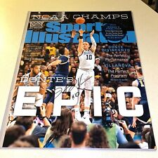DONTE DIVINCENZO signed autographed 16x20 SI COVER PHOTO VILLANOVA WILDCATS