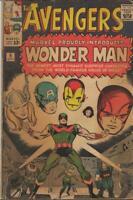 Avengers #9 ORIGINAL Vintage 1964 Marvel Comics 1st Wonder Man