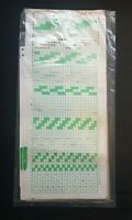 PC425 BROTHER KNITTING MACHINE PATTERNS PUNCH CARDS G CARRIAGE KG B SET 1-5