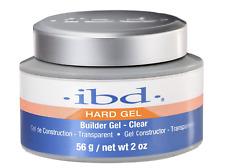 IBD UV/LED Hard Builder Gel Clear 56g/2oz NEW VERSION