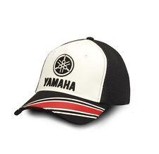 Oficial 2017 Yamaha las revisiones Adultos Negro/Blanco Camionero Gorra de béisbol Jordan