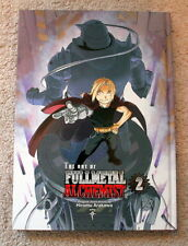 The Art Of Fullmetal Alchemist 2 Hiromu Arakawa Hardcover English FMA Art Book