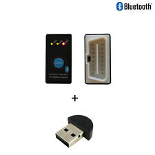 Mini ELM327 Bluetooth OBD2 Car Scanner + Power Switch v2.1+ Bluetooth USB Dongle