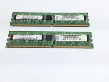 2GB (2x1GB) HYNIX HYMP512U72CP8 PC2-4200E DDR2-533 PC Memory RAM | R:157