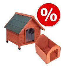 Hundehütte Hundehaus Haus Hund Wetterfest mit Isolierung Thermo Wärmeschutz Holz