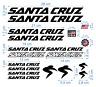 Santa Cruz gestanzte Decals Stickers Fahrrad Autokollant Aufkleber Adesivi /621