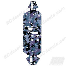 Losi 8ight 2.0 4WD Buggy Chassis Protector Graphics Digital Camo Navy Losa0804