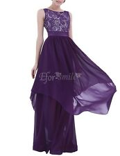 Womens Long Cocktail Evening Party Prom Formal Wedding Bridesmaid Gown Dress