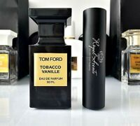 TOM FORD TOBACCO VANILLE 10ml EDP Sample Twist&Spray Travel Bottle