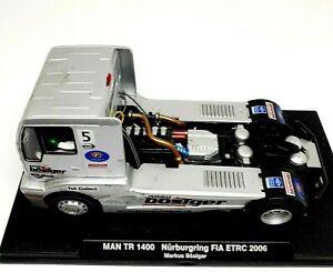 Flyslot 1/32 Truck Man TR 1400 Nurburgring 2005 Markus Bosinger Slot Car 203102