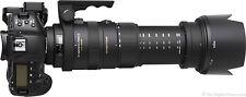 Sigma 50-500mm f/4.5-6.3 DG OS HSM APO Autofocus Lens Canon EF Mount DE