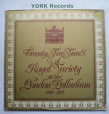 TWENTY-FIVE YEARS OF THE ROYAL VARIETY AT THE LONDON PALADIUM - Ex Con Double LP