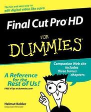 Final Cut Pro HD for Dummies (Paperback or Softback)