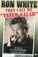 """RON WHITE """"THEY CALL ME TATER SALAD""""  FUNNY STAND UP COMEDY  ORIGINAL CASE DVD"""