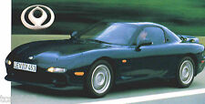 MAZDA RX-7/RX7 SPEC SHEET/Brochure/Catalog: 1993,....