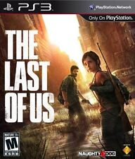 The Last of Us Playstation3 Game SONY PS3 NEW Factory Sealed