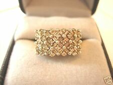 *Estate 14kt Gold Diamond Cocktail Ring 1.00 CT*WOW!
