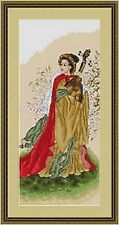 Harmony (Medieval Musician) Counted Cross Stitch Kit -Luca-s B229