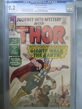 Journey Into Mystery #104 CGC 9.2 OW/W **Flying Thor** Marvel Comics 1964