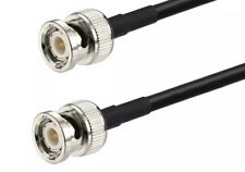 BNC Male to BNC Male Plug RG58 RF Pigtail Antenna Adapter Coaxial Cable 50FT USA
