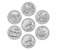 2017 P OR D NATIONAL PARK QUARTERS COMPLETE SET (5 COINS) COLLECTABLE MINT SET