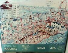 PUZZLE - OCEAN CITY - Painting by Bill Bell -1000 pcs - W.H.Smith - VERY GOOD