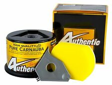 SOFT99 Authentic Premium Wax Carnauba Wachs Autowachs 200 g + Schwamm
