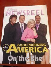 Disney Newsreel Good Morning America on the rise May 27, 2005 New