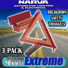 Emergency Safety Triangle Set of 3 NARVA 84200