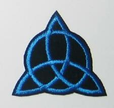 """Charmed TV Show Power of Three Blue Logo 3"""" Embroidered Patch"""