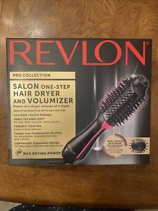 NEW Revlon Pro Collection Salon One-Step Hair Dryer & Volumizer Brush