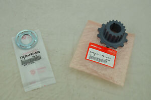 NEW OEM HONDA Guide Plate & Pulley Timing Belt Drive 13621-P72-A01 13622-PR3-000