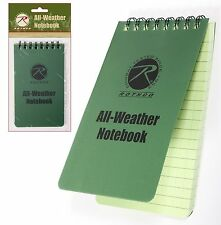 All-Weather Notebook - 48 Sheets Waterproof Paper Note Book Outdoor
