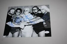 WCW THE FOUR HORSEMEN SIGNED 8X10 PHOTO RIC FLAIR, ARN, TULLY, OLE, JJ, JSA CERT