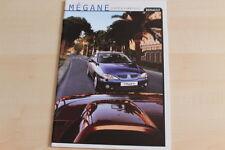 74308) Renault Megane Coupe + Cabrio Prospekt 12/1999
