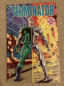 Dark Horse Comics The Terminator Issue 1-3 And The Terminator: Tempest TPB