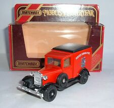 Matchbox Yesteryear No. Y-22, 1930 Model 'A' Ford Van, 'Poste Canada Post', Mint