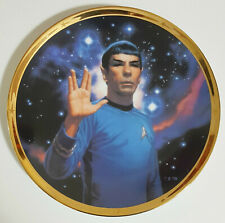 Star Trek Spock Plate Hamilton Collection 25th Anniversary 1991 Limited Edition