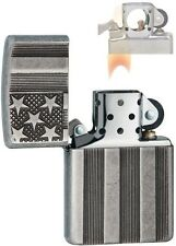 Zippo 28974 Flag Armor Antique Lighter with PIPE INSERT PL