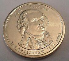 2007 D JOHN ADAMS Presidential Dollar Coin  **FREE SHIPPING**