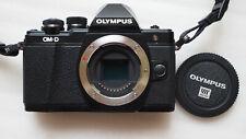 Olympus OM-D E-M10 Mark II Digitalkamera - Schwarz - 12 Monate Gewährleistung