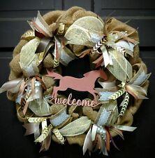 Custom Horse/Country Burlap Wreath