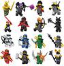 SET A NINJAGO FIGURE Nya Lloyd Jay Zane Kai Cole Harumi Samurai Lego Toys Custom